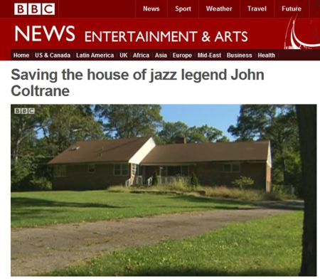 BBC Story - The Coltrane Home